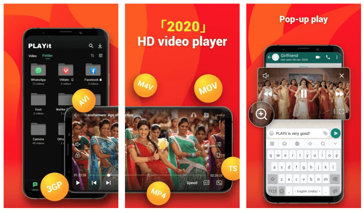 Playit Apk Download – Video Player For Android Devices
