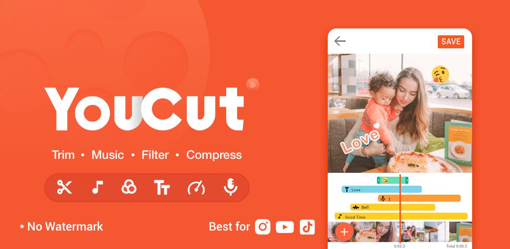 Youcut Apk Download – Best Video Editor No Watermark